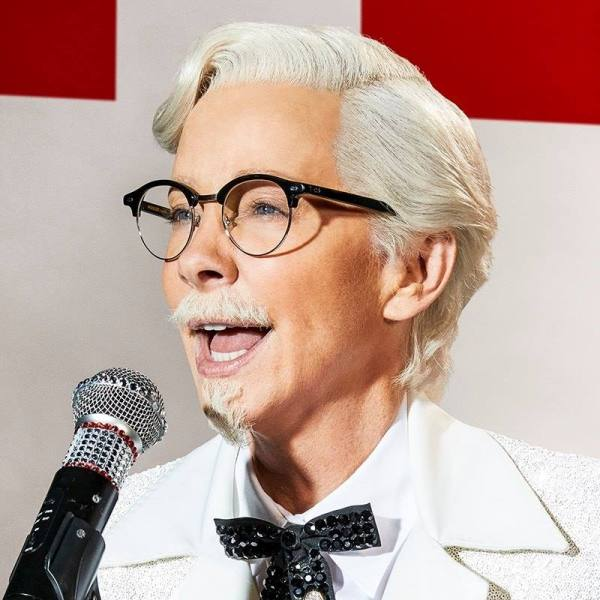 reba mcentire plays an androgynous colonel sanders in new kfc ad