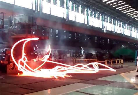 Cobbles: steel mill mishaps where hot steel reels out like a nightmare light saber