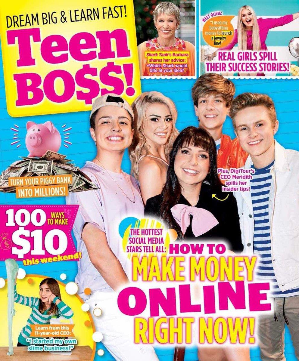 Ideas for a teen magazine