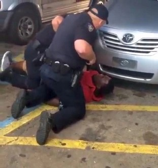 2 white cops arrest latina gangster then fuck her in public - 2 part 10