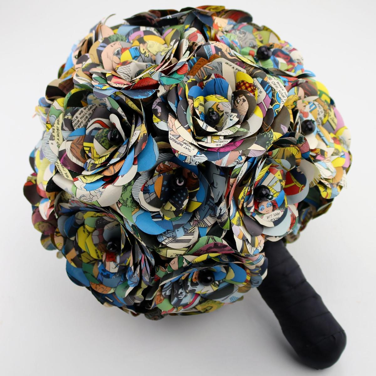 Comic Book Bouquets And Boutonnieres / Boing Boing