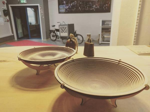 Watch a laser cut this bowl from one thin sheet of wood / Boing Boing