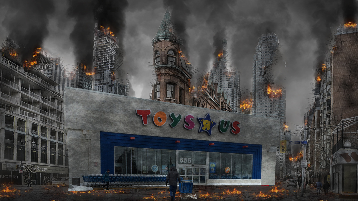Private Equity Killed Big Box Retailers Leaving Empty Big