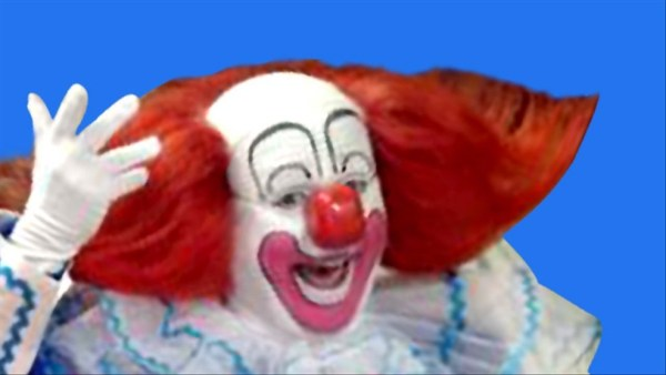 Bozo the Clown's big red shoes have shuffled off this mortal coil