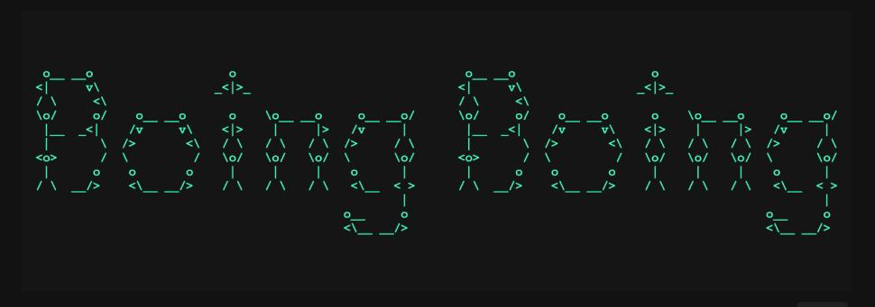 Tool that turns text into ASCII art / Boing Boing