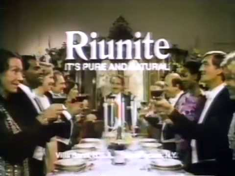 Riunite advertising was something out of another universe