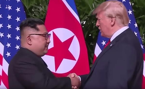 A Bad Lip Reading of the Trump-Kim Summit
