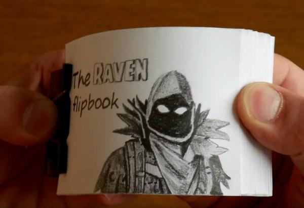 Watch This Fun Fortnite Flipbook Boing Boing