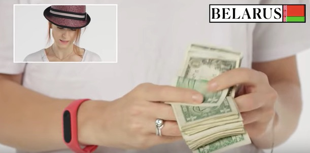 Watch people from different countries count paper money in myriad ways