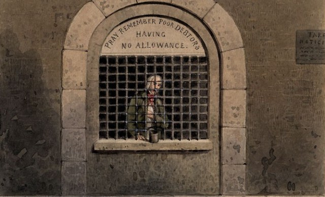 "The American Conservative: ""The Dickensian Return of Debtors' Prisons"""