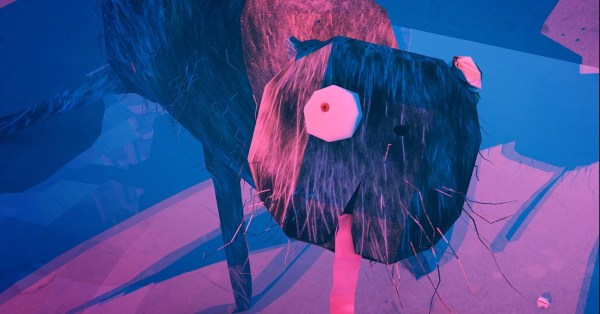 Fragmented animation about kindness and coexistence.