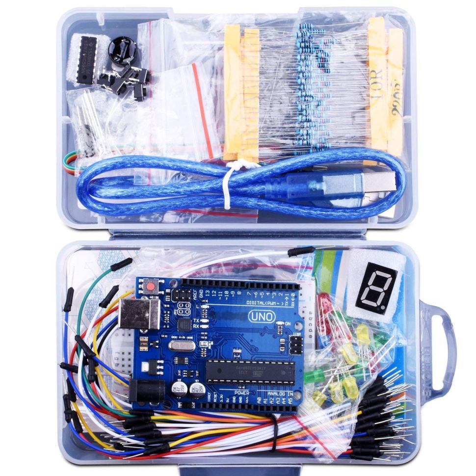147 Piece Arduino Clone Kit For 16 Boing Interactive Cable Wiring