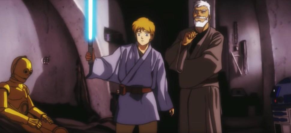 Image result for star wars anime