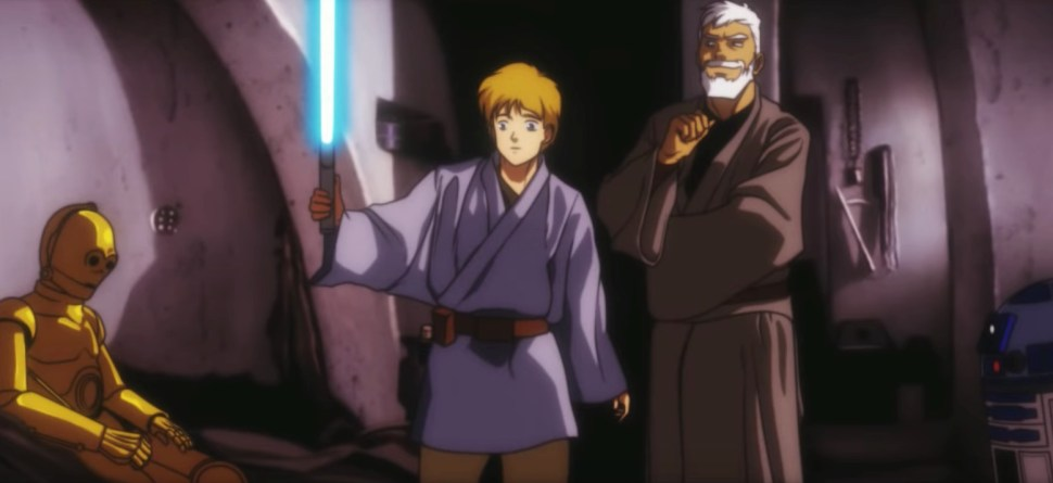 Image result for star wars anime