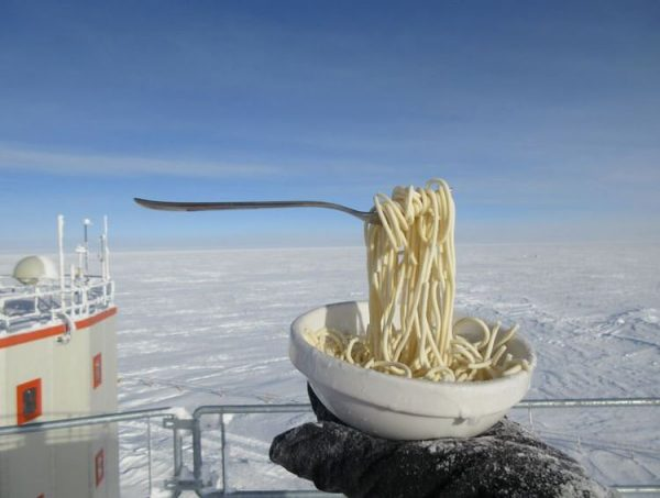 How to cook and eat a gourmet meal in Antarctica / Boing Boing