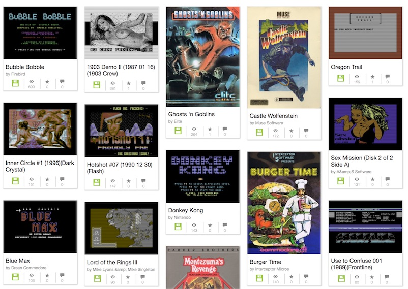 Play Bubble Bobble, Wolfenstein, and 13,000 other Commodore