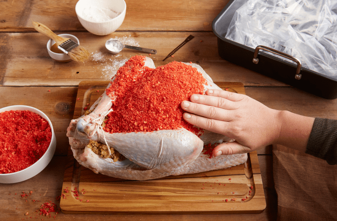 Hot Cheetos Thanksgiving Turkey / Boing Boing