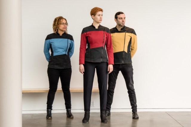 "Heavy denim ""Starfleet"" jackets"