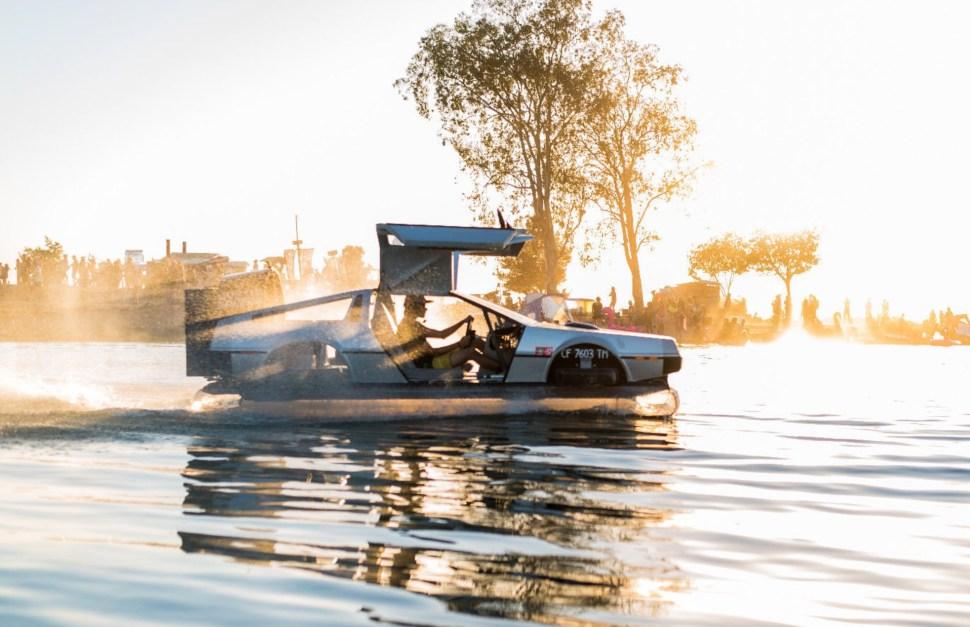 Delorean hovercraft for sale