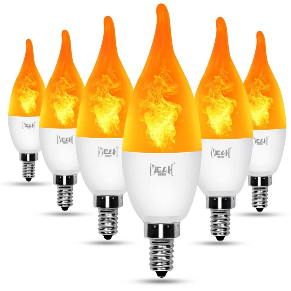 The strange and complex world of flame-effect LED bulbs