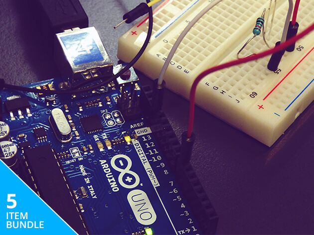 Internet, meet things: This starter kit is perfect for makers