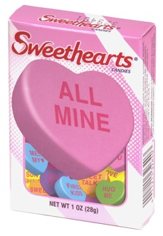 153 years of uninterrupted Sweethearts candies, interrupted