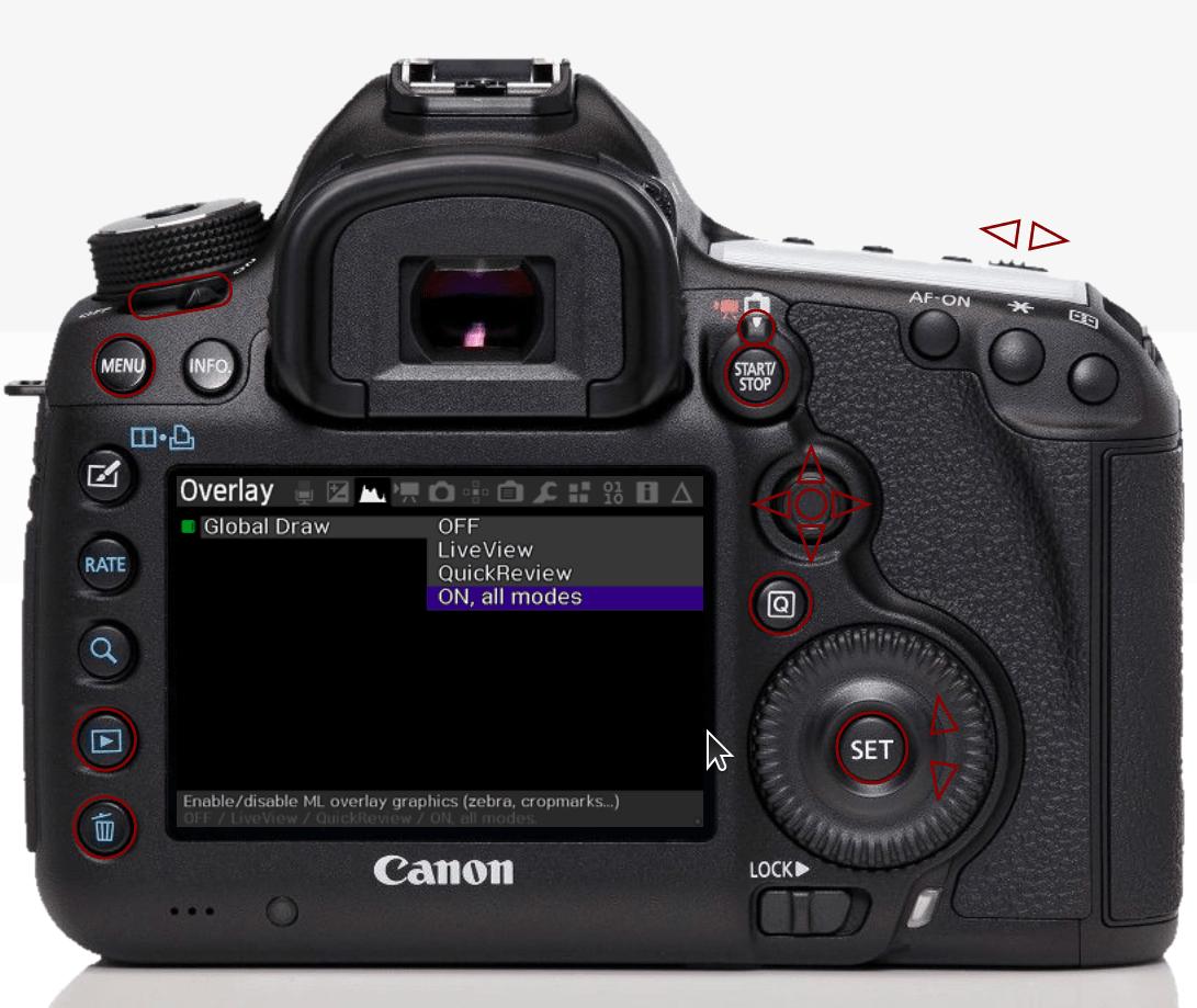 Magic Lantern: feature-rich addons for Canon EOS cameras