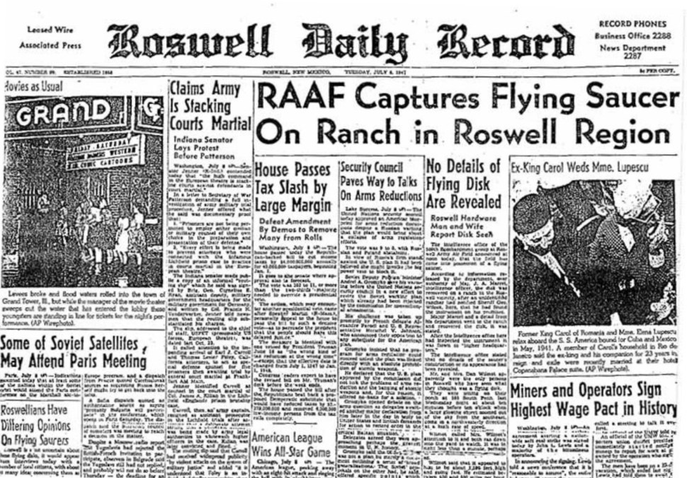 Roswell UFO crash site sold to new owner
