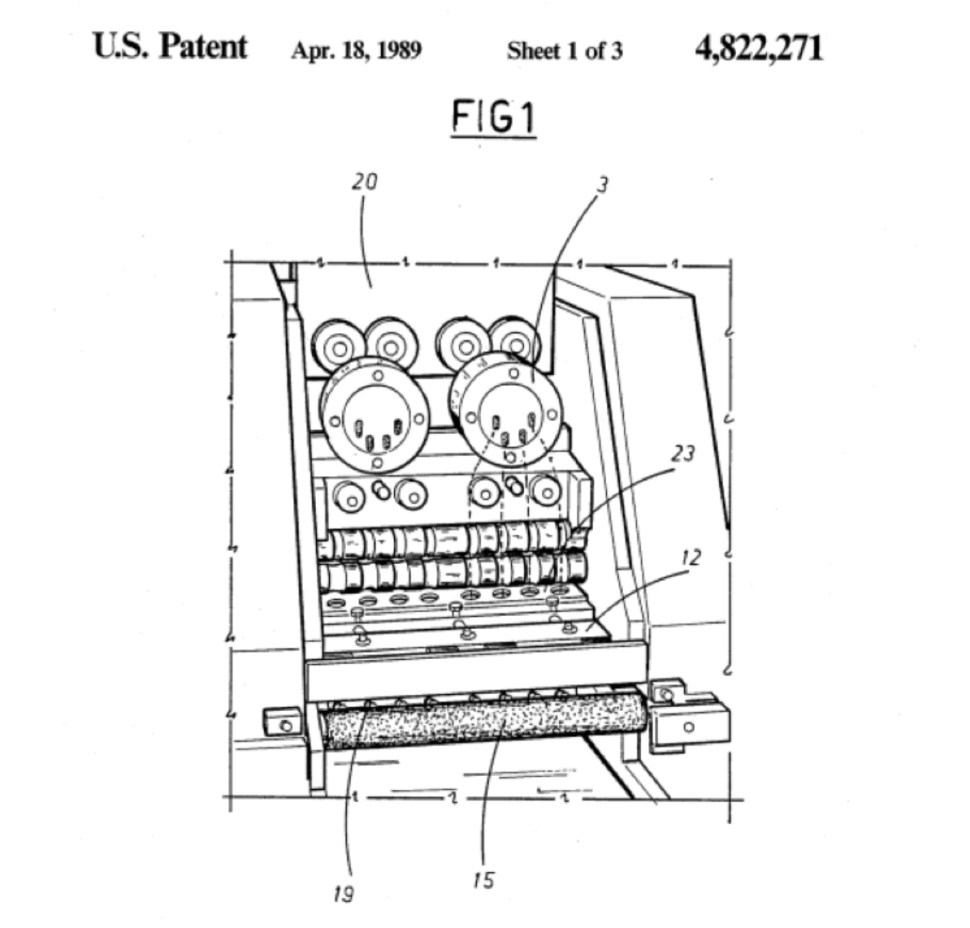 Of pasta and patents
