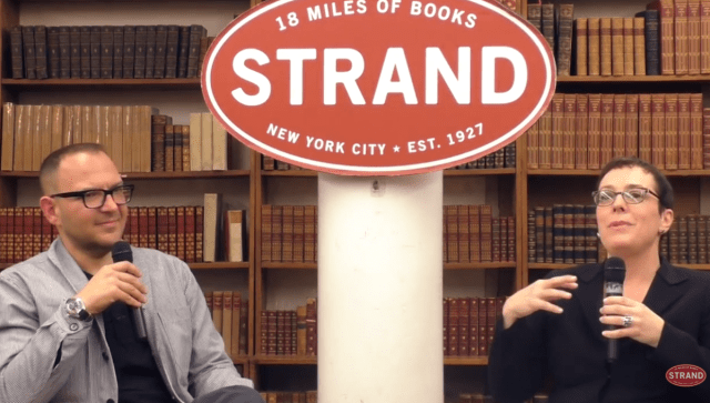 Video from the Radicalized launch with Julia Angwin at The Strand