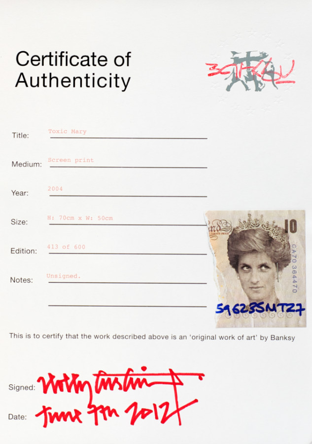 Banksy's art authentication system displays top-notch cryptographic nous