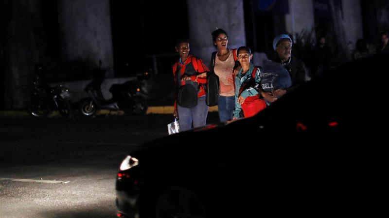 Venezuela hit by second electrical blackout in one month, capital city of Caracas mostly without power