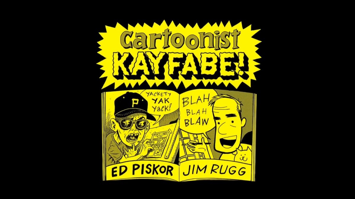 Cartoonist Kayfabe is Ed Piskor and Jim Rugg's new YouTube channel