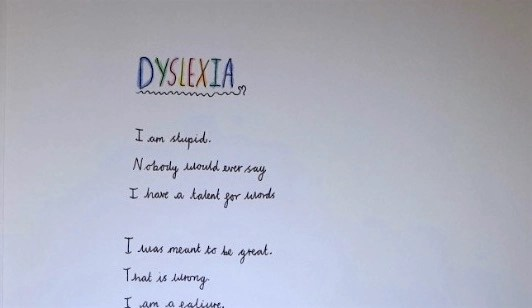 10-year-old writes brilliant poem about dyslexia and it goes viral