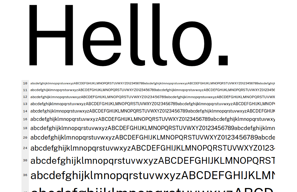 Public Sans: a free/open font from the United States Web Design System