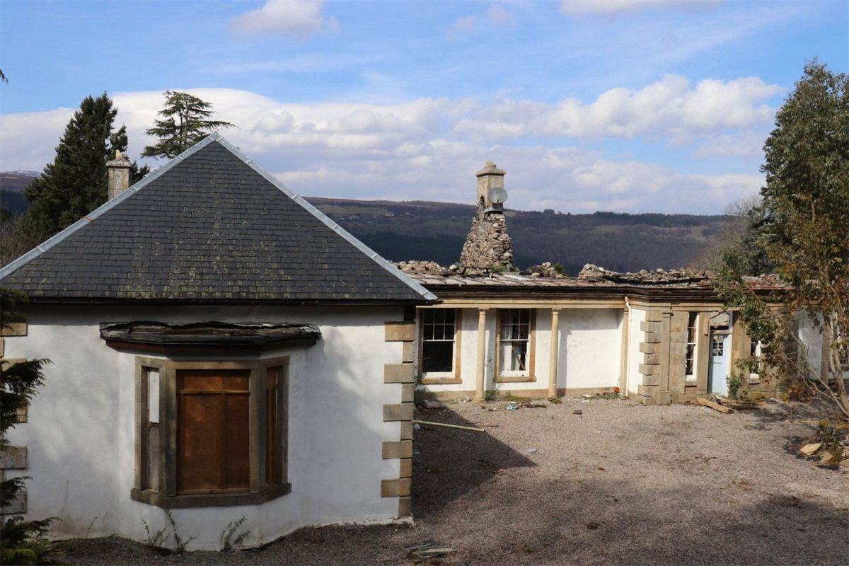 For sale: charred remains of Aleister Crowley and Jimmy Page's Loch Ness home