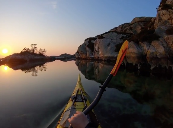 Watch: Kayaking a river in Norway on a gorgeous Spring day