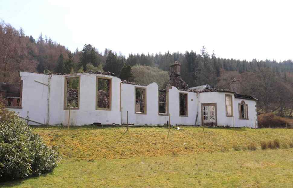 For sale: charred remains of Aleister Crowley and Jimmy Page s Loch Ness home