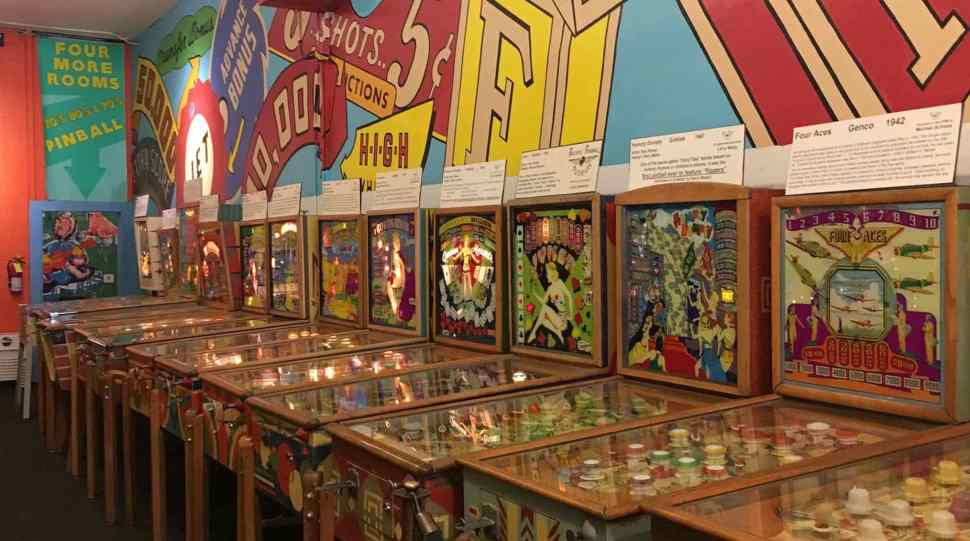 Where pinball machines live forever