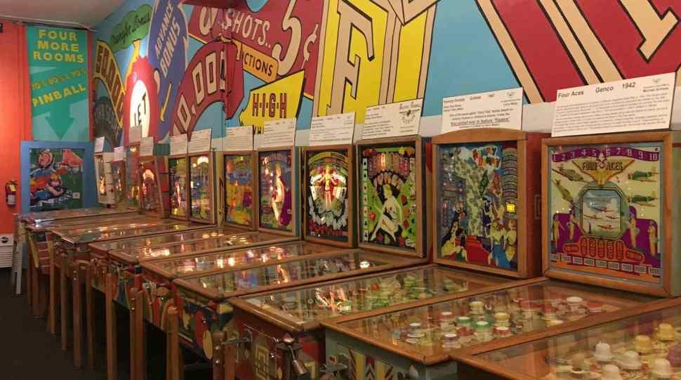 Where pinball machines live forever