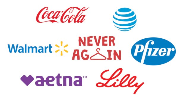 These corporations backed the politicians who will murder women by banning legal, safe abortions