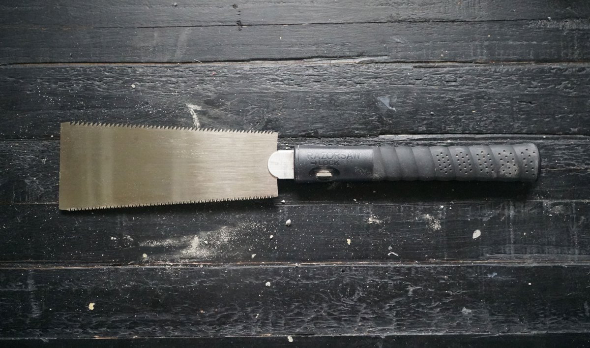 Get a ryoba handsaw right now