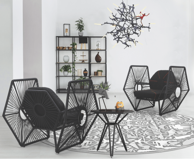 There's now a line of high-end Star Wars furniture