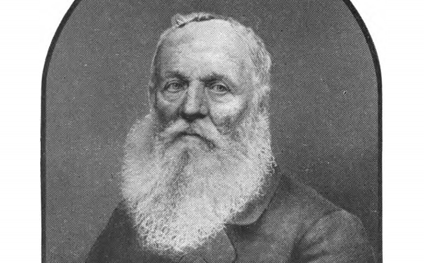 In 1830, Joseph Palmer was persecuted for the social sin of wearing a beard
