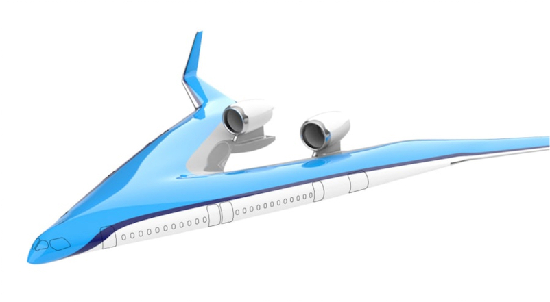 13b0c8231b3fda The fuselage actively contributes to the lift of the airplane, and creates  less aerodynamic drag.