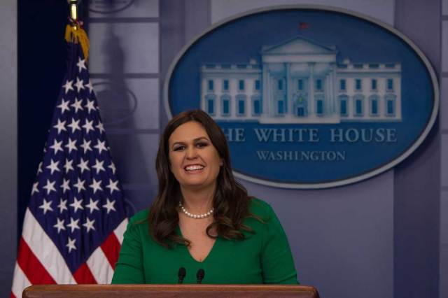 "Sarah Sanders hopes she'll be remembered as being ""transparent and honest"""
