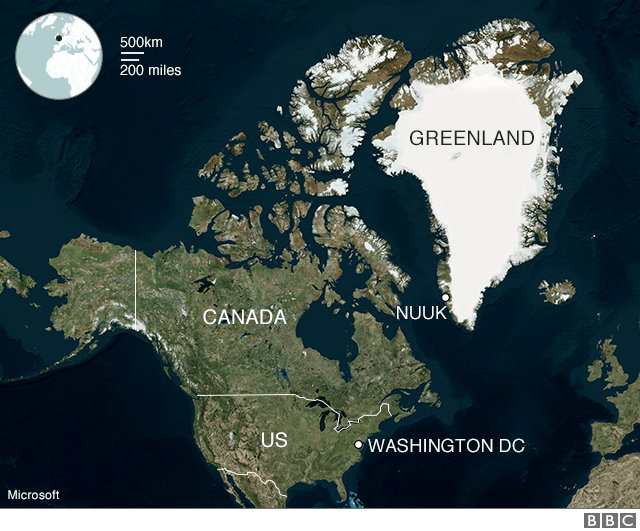 How big Greenland really is / Boing Boing