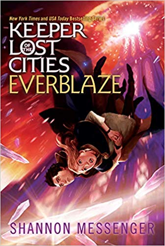 Everblaze, book 3 of Shannon Messenger's 'Keeper of Lost Cities' series is so good