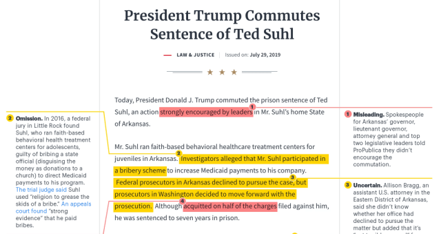 Debullshitifying Trump's get-out-of-jail statement for Medicaid scammer Ted Suhl