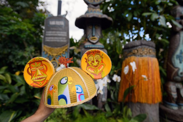 SHAG designed Enchanted Tiki Room mouse ears for Disneyland